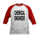 Chemical Engineer (Front) Kids Baseball Jersey