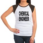 Chemical Engineer (Front) Women's Cap Sleeve T-Shi