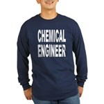Chemical Engineer (Front) Long Sleeve Dark T-Shirt