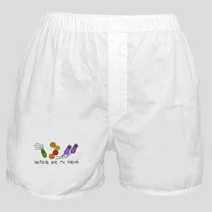 Bacteria are My Friends Boxer Shorts