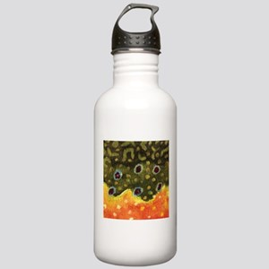 Trout Fly Fishing Stainless Water Bottle 1.0L