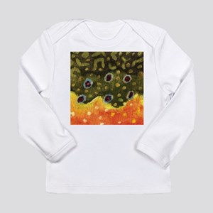 Trout Fly Fishing Long Sleeve Infant T-Shirt