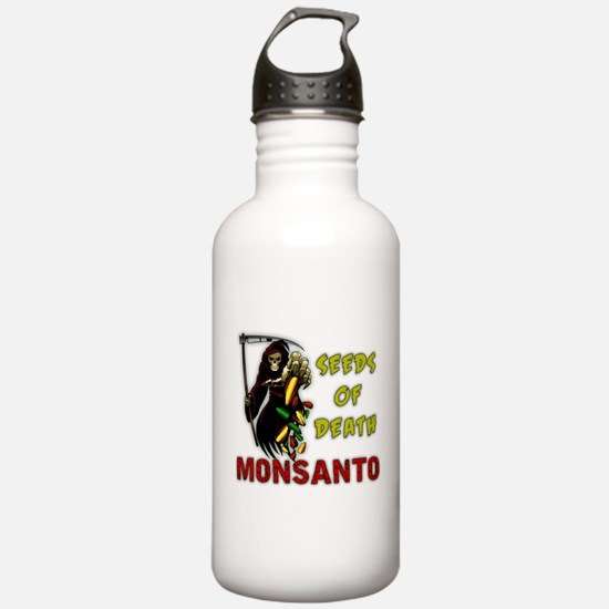 Seeds of Death Water Bottle
