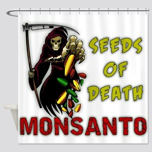 Seeds of Death Shower Curtain