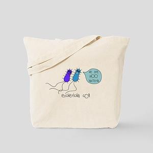 Poo Bacteria Tote Bag