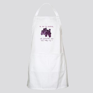 Be Nice to Bacteria BBQ Apron