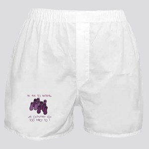 Be Nice to Bacteria Boxer Shorts