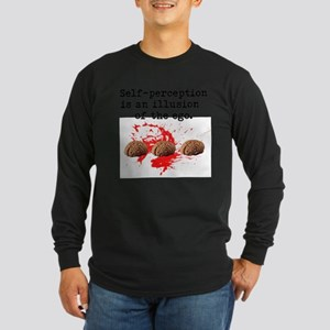 Freud Psychology Long Sleeve Dark T-Shirt