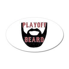 Boston Playoff beard Wall Decal