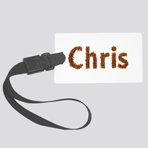 Chris Fall Leaves Large Luggage Tag