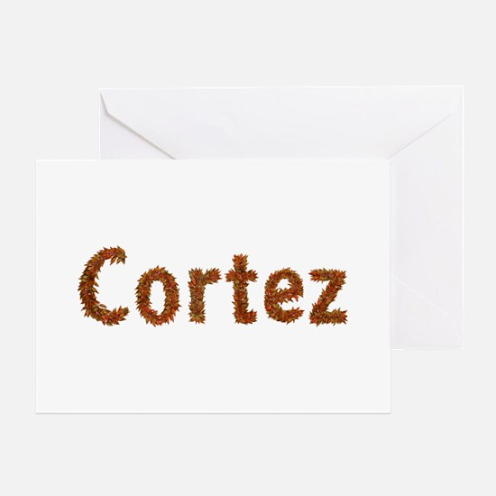 Cortez Fall Leaves Greeting Card