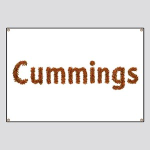 Cummings Fall Leaves Banner
