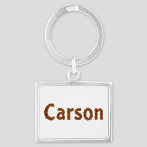 Carson Fall Leaves Landscape Keychain