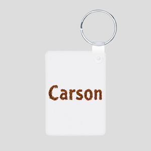 Carson Fall Leaves Aluminum Keychain