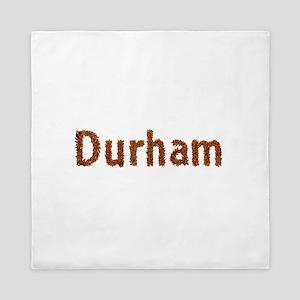 Durham Fall Leaves Queen Duvet