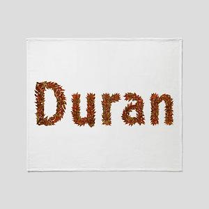 Duran Fall Leaves Throw Blanket