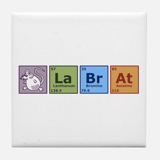 Periodic Lab Rat Tile Coaster