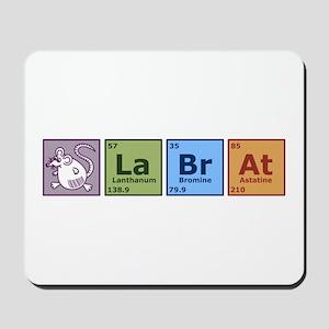 Periodic Lab Rat Mousepad