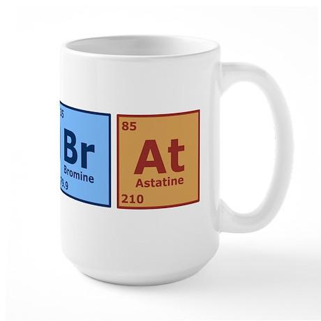 Periodic Lab Rat Large Mug