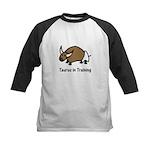 Taurus in Training Kids Baseball Jersey