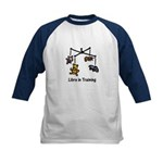 Libra in Training Kids Baseball Jersey