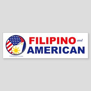 FIL-AM Bumper Sticker
