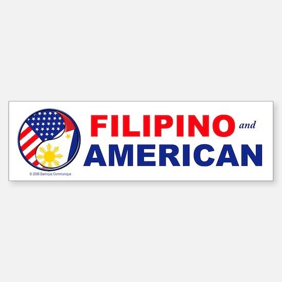 FIL-AM Bumper Car Car Sticker