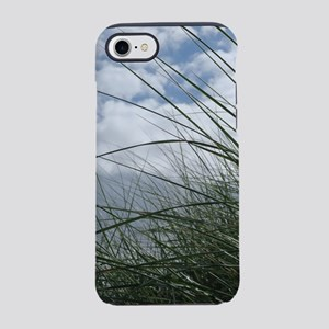 Grass in the dunes at sea agai iPhone 7 Tough Case