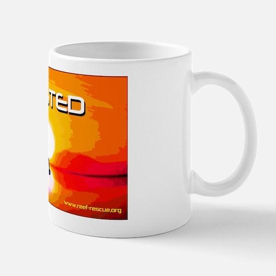 Toasted Planet Flaming Penguin Mug