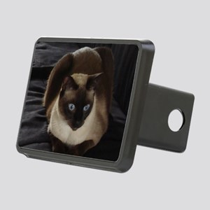 Lulú, the Siamese Cat Rectangular Hitch Cover