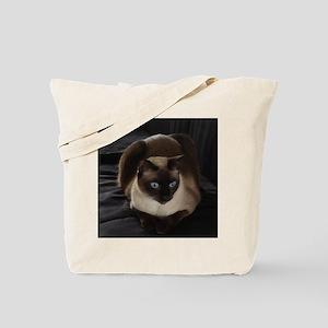 Lulú, the Siamese Cat Tote Bag