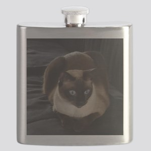 Lulú, the Siamese Cat Flask