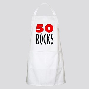 50 ROCKS BBQ Apron