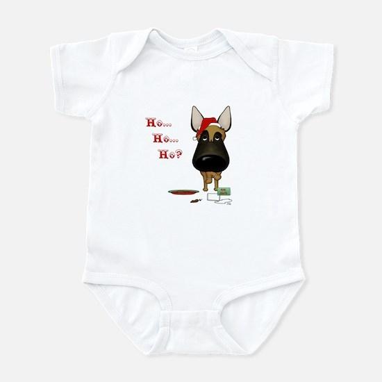 Malinois Santa Infant Bodysuit