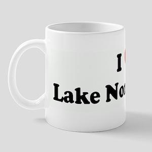 I Love Lake Norman, NC Mug