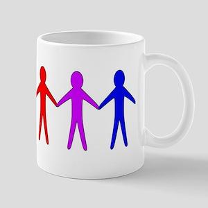LGBT Cutout People Mugs