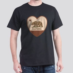 Love California - Retro Dark T-Shirt