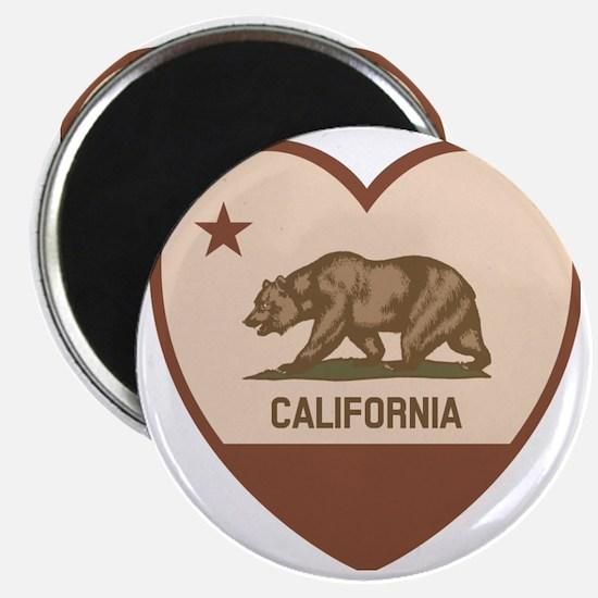 Love California - Retro Magnet