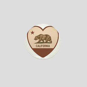 Love California - Retro Mini Button