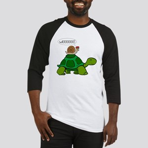 Snail & Turtle Baseball Jersey