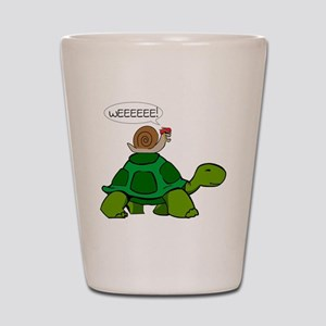 Snail & Turtle Shot Glass