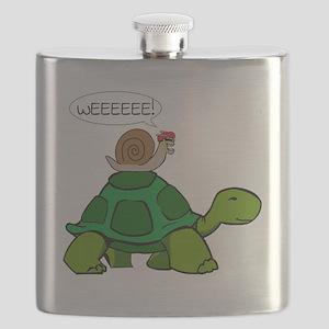 Snail & Turtle Flask