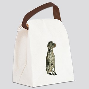 German Short Haired Ptr Canvas Lunch Bag