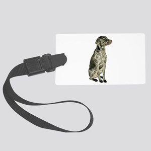 German Short Haired Ptr Large Luggage Tag