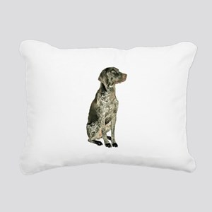 German Short Haired Ptr Rectangular Canvas Pillow