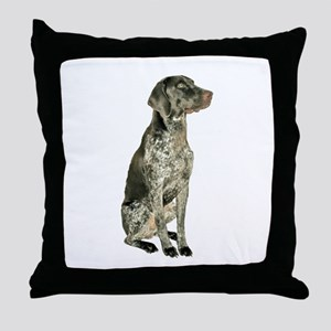 German Short Haired Ptr Throw Pillow
