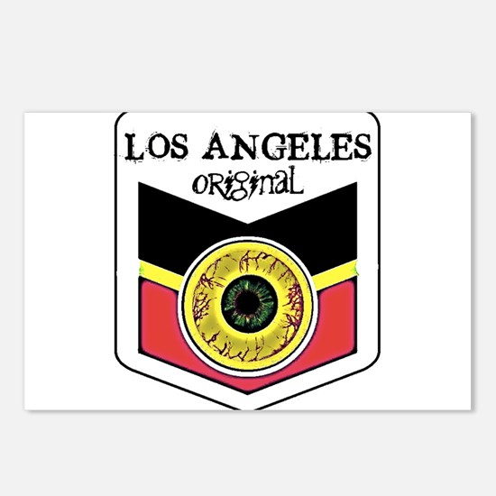 Los Angeles Skateboard Postcards (Package of 8)