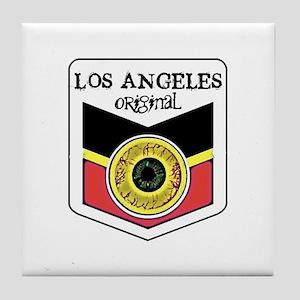 Los Angeles Skateboard Tile Coaster