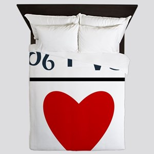Leo + Capricorn = Love Queen Duvet