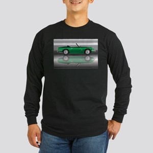 British Racing Green Sports Ca Long Sleeve T-Shirt